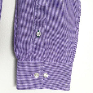 """New Tommy Hilfiger Gingham Button-Down Shirt 34"""""""